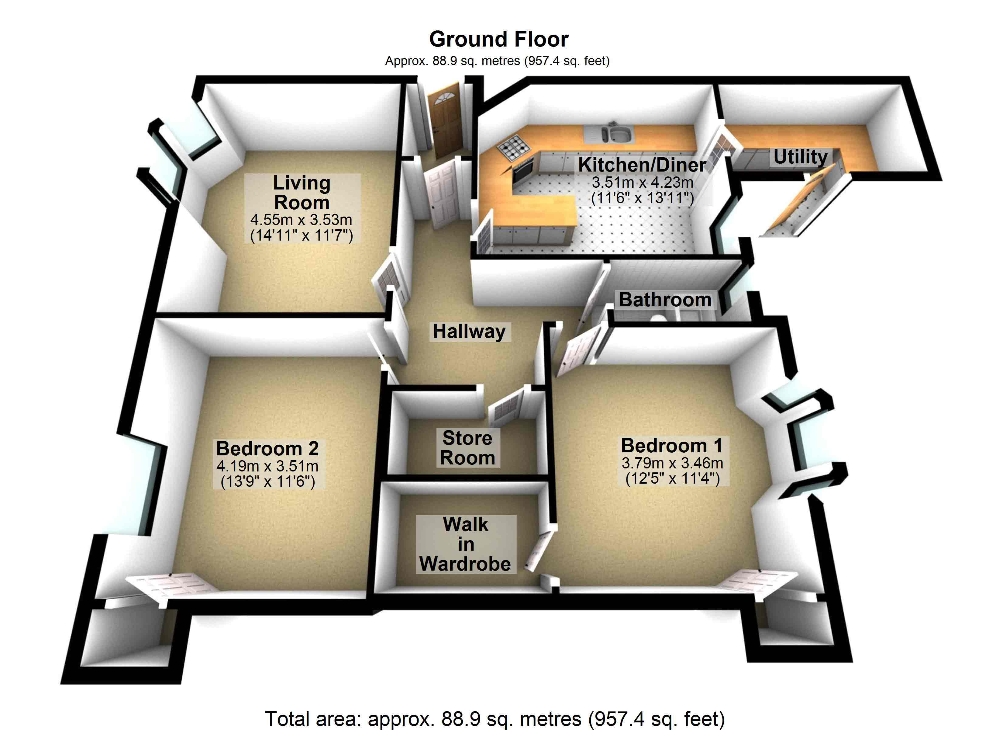 2D & 3D Property Floor Plans | Property